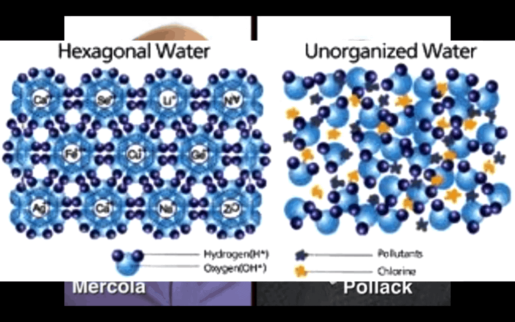 Water structuring molecule